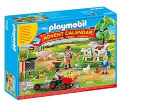 (Prime) PLAYMOBIL Adventskalender 70189 Auf dem Bauernhof