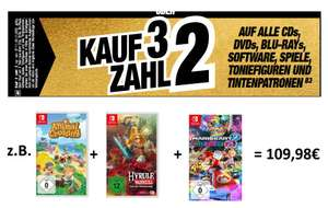 [lokal: expert hem] 3-für-2 Games-Aktion (PS4, PS5?, Xbox, Switch): zB Animal Crossing: New Horizons + Mario Kart 8 Deluxe + Hyrule Warriors