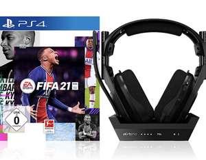 FIFA 21 - (inkl. kostenlosem Upgrade auf PS5) - [Playstation 4] + ASTRO Gaming A50 Headset mit Ladestation (4. Gen) [PC/Mac/PS4/PS5]