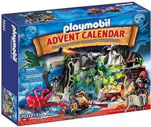 PLAYMOBIL Adventskalender 70322 Schatzsuche in der Piratenbucht (Prime)