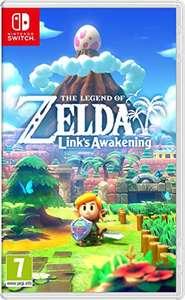 The Legend of Zelda: Link's Awakening (Switch) für 41,75€ und weitere Spiele (Amazon UK)