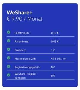 1 Monat WeShare+