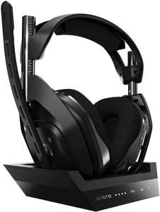 Astro Gaming A50 Wireless Headset 4. Gen inkl. Basisstation für PS4 oder Xbox One (auch mit PC sowie PS5 bzw. Series S/X nutzbar)