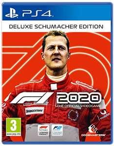 F1 2020 Schumacher Deluxe Edition (Playstation 4) Ps4 für 38,35€ oder normale Edition für 33€