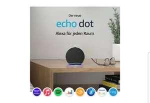 Sammeldeal AMAZON Echo Dots (z.B. 4. Generation), mit Alexa, Smart Speaker, Anthrazit