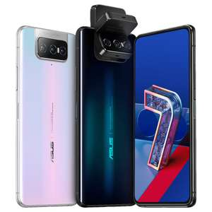 "Asus Zenfone 7 5G (6,67"" FHD+ AMOLED 90Hz, 230g, 8/128GB, SD865, NFC, Dual-SIM+SD, Stereo, 5000mAh, 30W)"