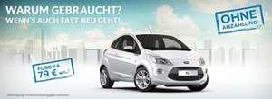 Ford KA für 79.- Euro im Monat leasen ohne Anzahlung