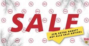VfB Stuttgart - 25 % Rabatt auf alle Sale-Artikel!