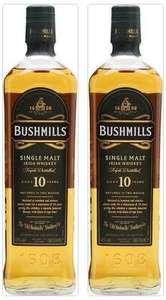 2x Bushmills 10 Jahre Single Malt Irish Whiskey [BEVBOX]