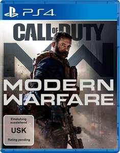 Call of Duty Modern Warfare PlayStation 4 oder Xbox One für 39€ für Kunden mit Lieferflat