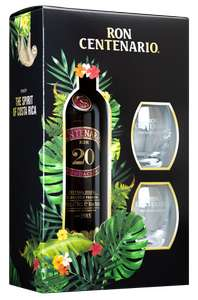 "Rum-Deal z.B. ""Centenario 20"" mit 2 Gläsern 39.50€, ""KIRK and SWEENEY 18"" 38.90€, ""Santos Dumont"" 43.99€, ""Ron Zacapa 23"" 39.49€ [BEVBOX]"