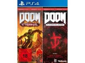 Doom Double Pack (Doom Eternal & Doom Slayers Collection) für PS4 oder Xbox One für 24.99€ bei Abholung / 29.98€ inkl. VSK