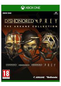 Dishonored & Prey: The Arkane Collection (Xbox One) oder Ps4 ab 14,56€ inkl VSK