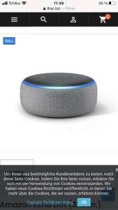 Amazon Echo Dot (3. Gen.)