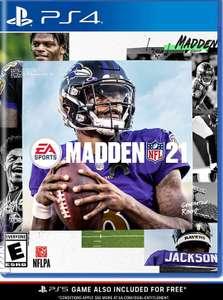 Madden NFL 21PS4 Mit Upgrade auf PS5