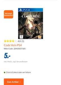 [lokal expert Lemgo] Code Vein & Borderlands 3 & Ghost Recon Breakpoint (PS4) je 5€ uvm..
