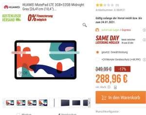 HUAWEI MatePad LTE 3GB+32GB Midnight Gray