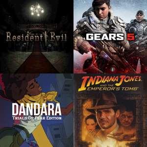 Xbox Gold - Februar 2021: Gears 5, Resident Evil, Indiana Jones & Mehr