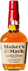 [Amazon] Maker's Mark Kentucky Straight Bourbon Whisky (14,99€ mit 5 Spar-Abos)