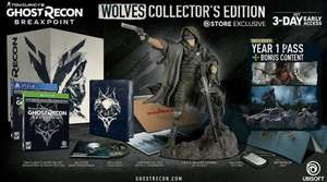 Ghost Recon Breakpoint Wolves Collectors Edition XBOX ONE
