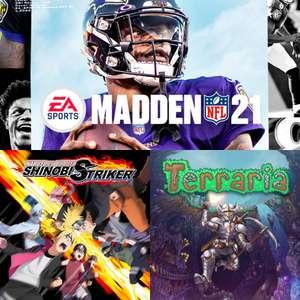 Xbox Free Weekend: Terraria, Naruto/Boruto Shinobi Striker & Madden NFL 21 (Live Gold / Game Pass Ultimate)