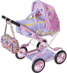 Zapf Creation 828649 BABY born Deluxe Pram Puppenwagen für Puppen fast jeder Größe