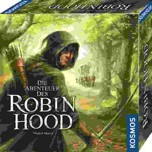 Die Abenteuer des Robin Hood, das neue Brettspiel von Michael Menzel (bekannt aus Andor)