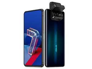 "Asus ZenFone 7 Pro 5G 6,67"" FHD+ AMOLED Dual-SIM Smartphone 8/265GB (Snapdragon 865+, 645K AnTuTu, 5.000 mAh, 64 MP Flip-Cam, NFC, USB-C)"
