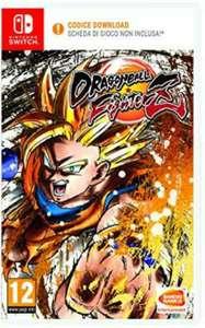 Dragon Ball Fighterz Code in der Box - Nintendo Switch