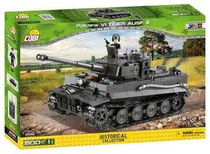 [Klemmbausteine] Cobi Tiger PZKPFW VI Ausf. E, WWII 800 Bauteile (Vorbestellung)