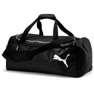 [schulranzen-onlineshop.de] Puma Fundamentals Sporttasche M, 57 L, schwarz