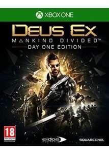 Deus Ex: Mankind Divided - Day One Edition (Xbox One) für 4,97€ inkl. Versand (Base.com)