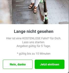 Lime Scooter Gratis 10 Min Fahrt - freebie
