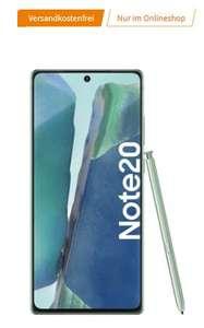 Samsung Galaxy Note20 256GB + Galaxy Buds Live im MD Vodafone/Telekom Green LTE 10GB für 49€ einmalig und 26,99€ monatlich