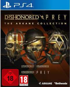 The Arkane Collection: Dishonored & Prey (PS4) für 17,33€ (Media Markt & Saturn Abholung)