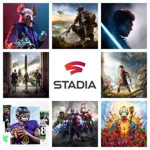 [Stadia Sammeldeal der Woche 11/12]: u.a. STAR WARS Jedi: Fallen Order™, Assassin's Creed Valhalla, Borderlands®3 und Watch Dogs: Legion