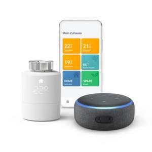 Bundle: tado° Starter Kit - Smartes Heizkörper-Thermostat V3+ Amazon Echo Dot 3. Generation