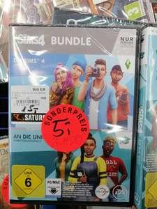 """(Lokal Saturn Wuppertal) Die Sims 4 + """"An die Uni!"""" Erweiterungspack (Bundle) für 5€    """"Zeit für Freunde"""" für 1€    """"An die Uni!"""" für 2€"""