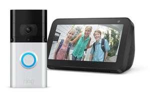Ring Video Doorbell 3 PLUS und Echo Show 5
