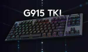 LOGITECH G915 TKL LIGHTSPEED Tactile US-Layout QWERTY
