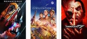 Kostenlose Spieltage - Tekken 7, Need for Speed Hot Pursuit, Sid Meier's Civilization VI (Xbox Live Gold)