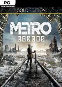 Metro Exodus Gold Edition für PC - 5,84€ mit PayPal [EPIC - Brasil VPN]