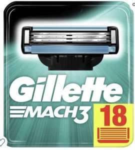 [Amazon prime] Gillette Mach3 18 Ersatzklingen