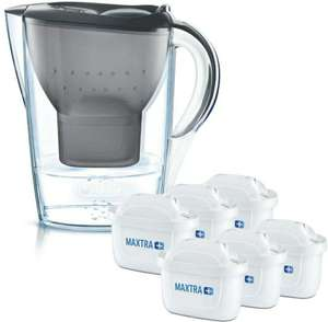 BRITA Wasserfilter Marella graphit inkl. 6 MAXTRA+ Filterkartuschen oder mit 12 Filter für 49.99