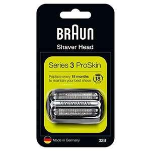 [Amazon Prime] 35% Rabatt durch Spar-Abo auf Braun, Oral-B, Philips, z.B. Braun Series 3 32B Elektrorasierer Ersatzscherteil