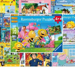 [Prime] Puzzle Sammeldeal (30), Der Maulwurf, Peppa Wutz, Paw Patrol, Exit etc. z.B. Ravensburger - Die kleine Biene Maja - 2 x 24 Teile