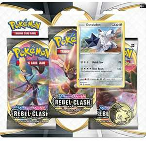 Pokemon Sword & Shield Rebel Clash Blister Duraludon (Prime) - englisch