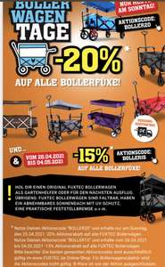 """Fuxtec 20% auf """"Bollerwagen"""""""