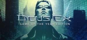 Deus Ex: Game of the Year Edition für 0,99€ bei GOG