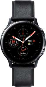 [Amazon] Samsung Galaxy Watch Active2, Fitnesstracker aus Edelstahl, großes Display, ausdauernder Akku, wassergeschützt, 44 mm, Bluetooth